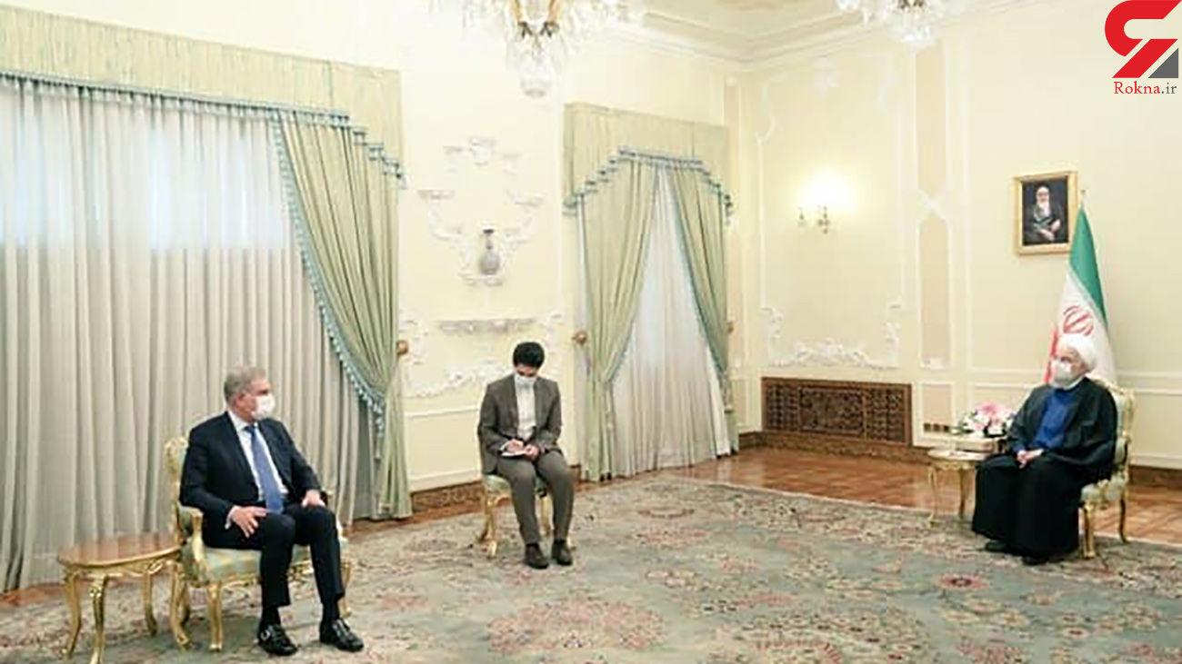 پیام توییتری وزیر خارجه پاکستان پس از دیدار با روحانی