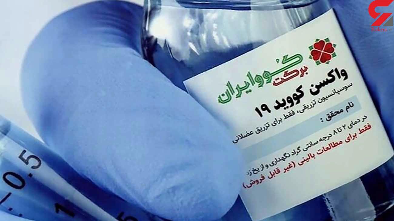 """ثابت کردیم واکسن کرونا """"کوو ایران برکت"""" ایمن است"""