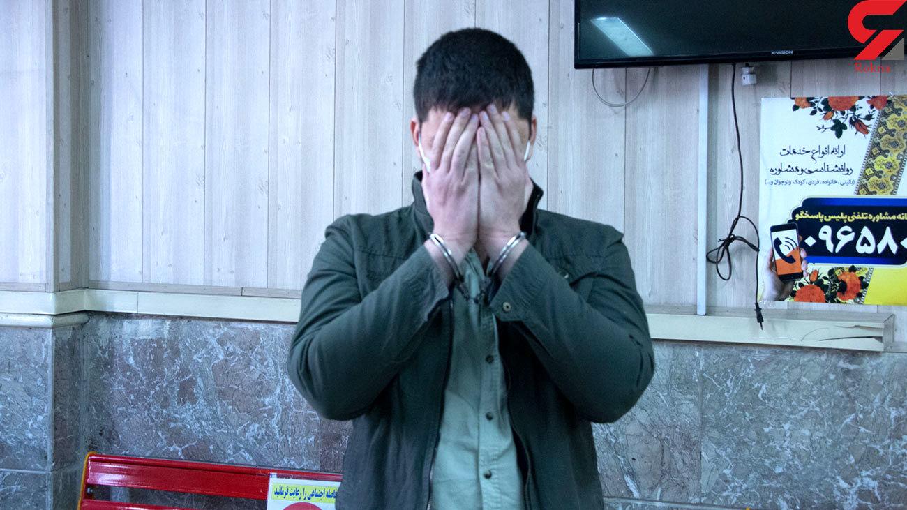 2 بار شلیک دزد طلافروشی تهران عمل نکرد / سرقت مسلحانه نافرجام در طلافروشی جوادیه + عکس و فیلم