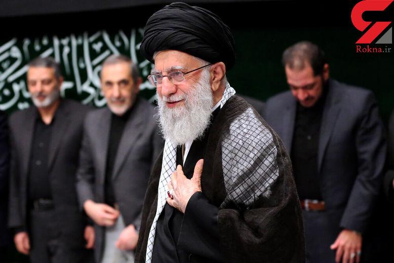 عزاداری حضرت اباعبدالله الحسین(ع) با حضور رهبر انقلاب