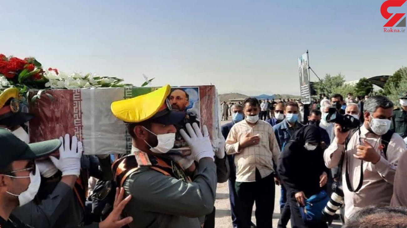 هم اکنون، مراسم تشییع پیکر سردار شهید حجازی در اصفهان