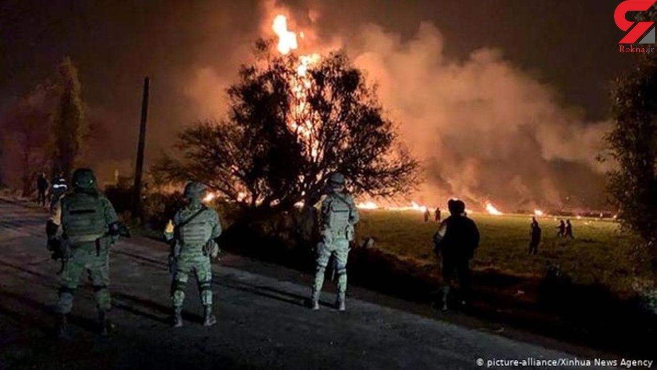آتشسوزی در بزرگراهی در کاراکاس+ فیلم