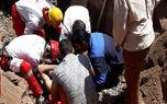 اتفاقی تلخ در رفسنجان / مرد در چاه سقوط کرد اما زنده ماند + عکس