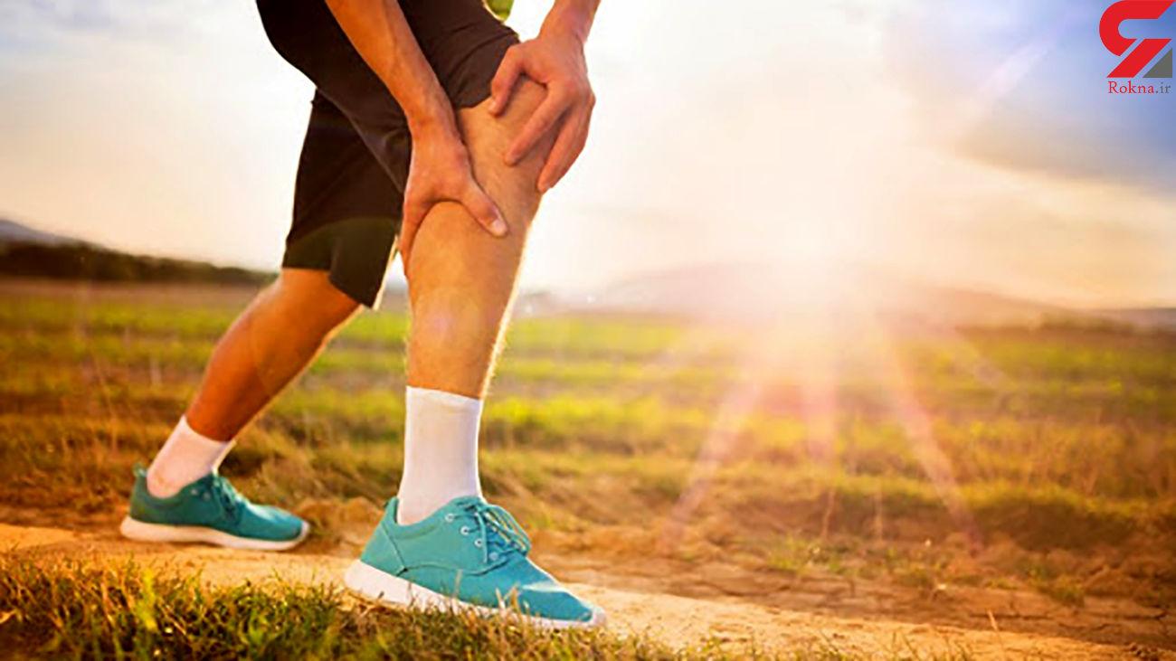 دویدن موجب درد زانو می شود؟