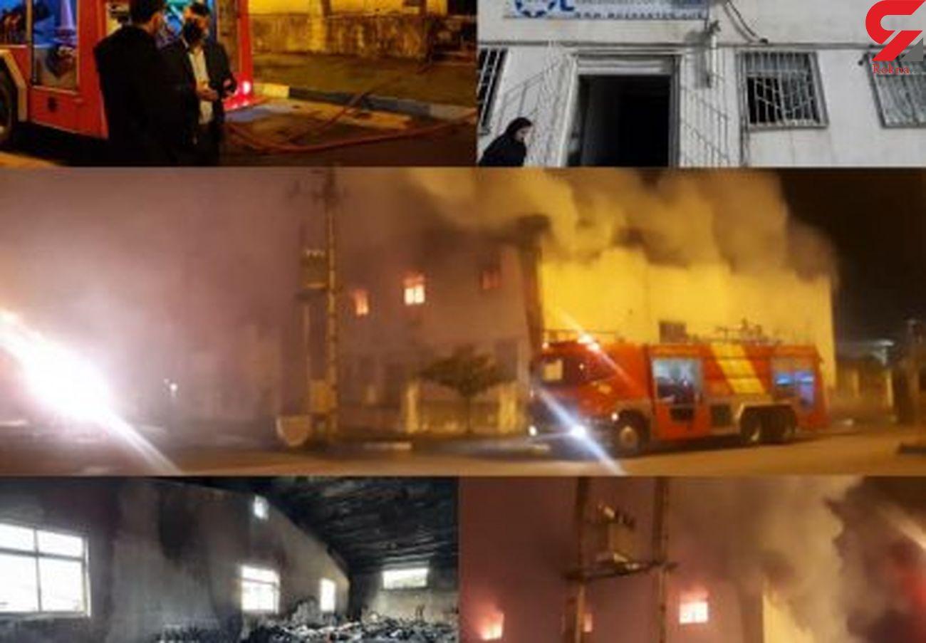 شرکت موژن طب کاسپین  در آتش سوخت + عکس