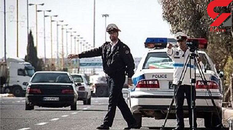 پیشنهاد شرم آور راننده متخلف به ماموران پلیس در اراک