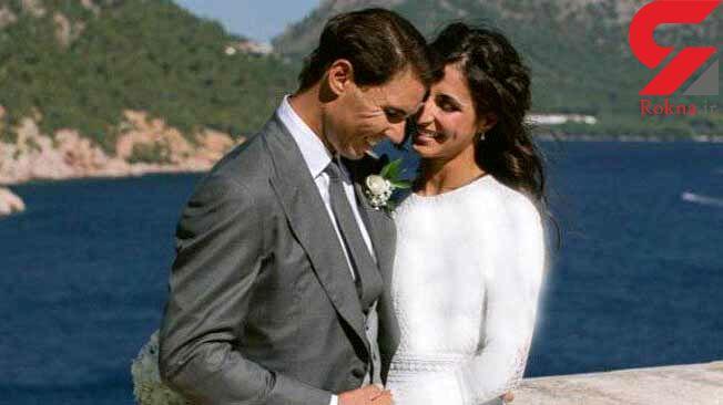 عکس مراسم ازدواج رافائل نادال تنیس باز معروف اسپانیایی