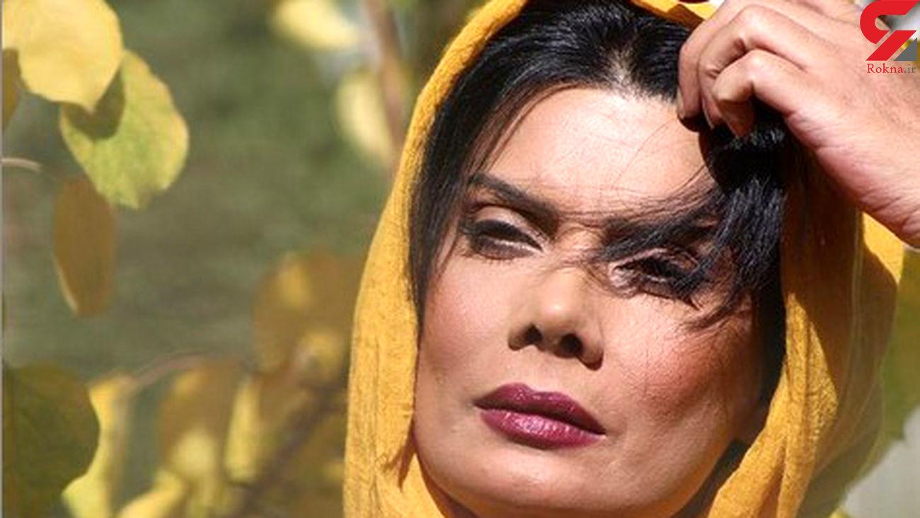 تیپ هالیوودی خانم بازیگر ایرانی / او از کشور خارج شد؟