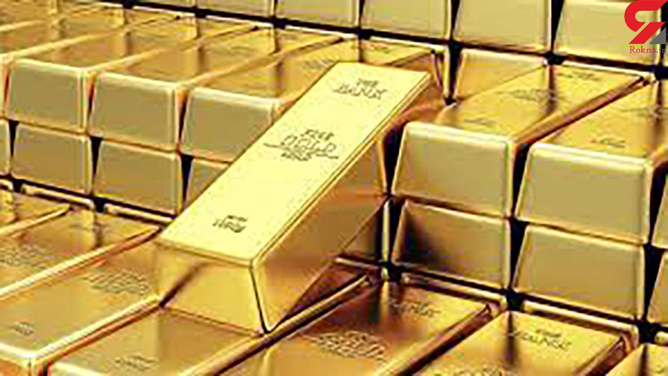 قیمت جهانی طلا امروز ۱۴۰۰/۰۲/۲۲