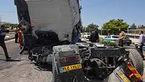 عکس / 2 کشته در تصادف مرگبار جاده حاجی آباد بندرعباس