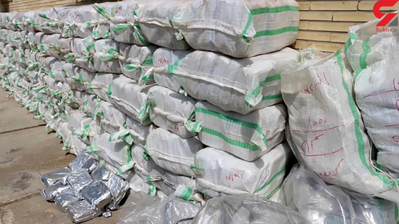 ۶۸۸کیلوگرم مواد مخدر توسط سربازان گمنام امام زمان(عج) در اورمیه کشف شد