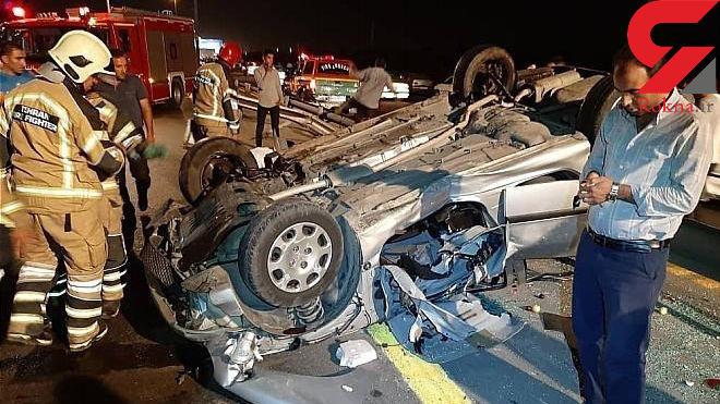 افزایش تصادفات شبانه در تهران