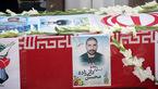 شهیدان مرز میرجاوه همان مدافعان حرم هستند / مراسم تشییع شهید دایی زاده در استان کرمان +تصاویر