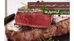 مواد غذایی با آهن بیشتر نسبت به گوشت