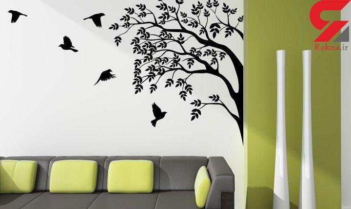 جذابیت دکوراسیون خانه با نقاشی های دیواری