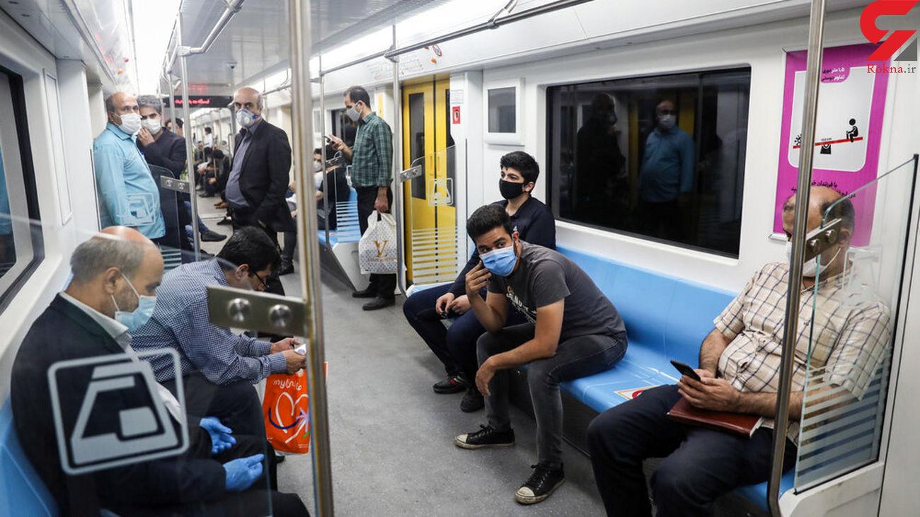 باز هم مشکل در ایستگاه میدان شهدای متروی تهران