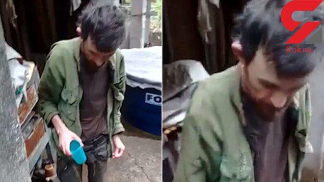 حبس جوان 36 ساله در زیرزمین خانه پدری/ قربانی 20 سال در زندان خانگی رنج کشید+ فیلم و عکس