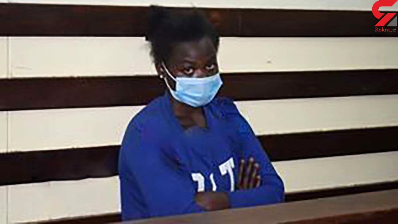 دستگیری زن خون آشام توسط پلیس