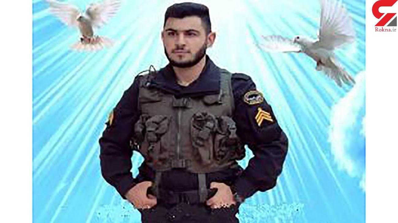 پلیس جوان شهید شد /  در اشتهارد بر ستوان یوسف اروجی چه گذشت؟! + عکس