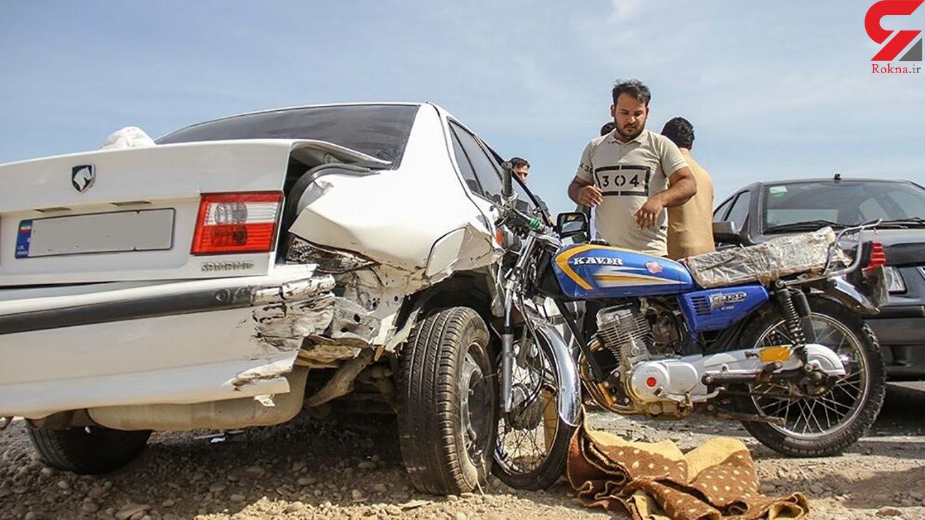 تصادف مرگبار در  ورامین با 3 کشته و زخمی