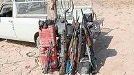 5 شکارچی متخلف در زاهدان دستگیر شدند