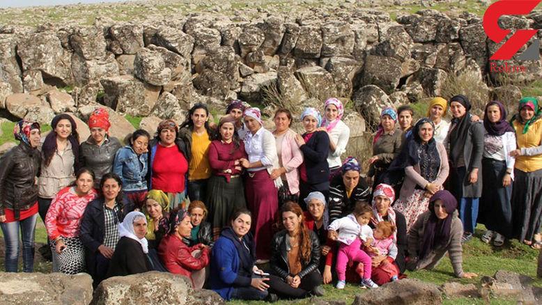 روستایی که تنها زنان حق سکونت در آن را دارند +عکس