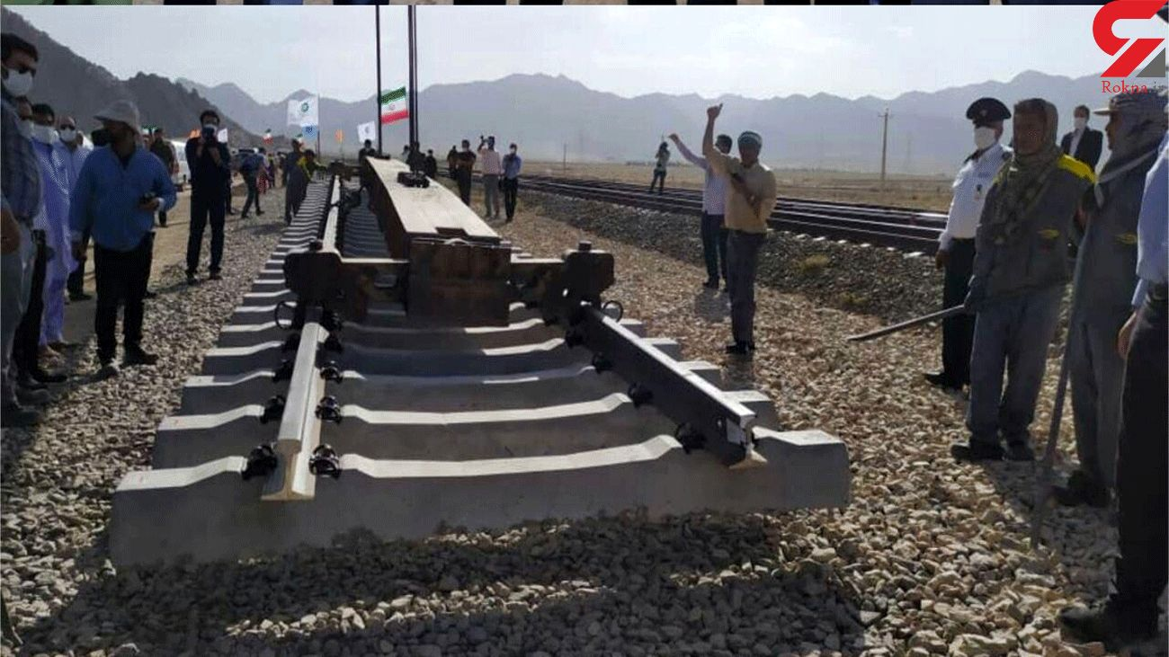 Track-laying of Chabahar-Zahedan railway begins