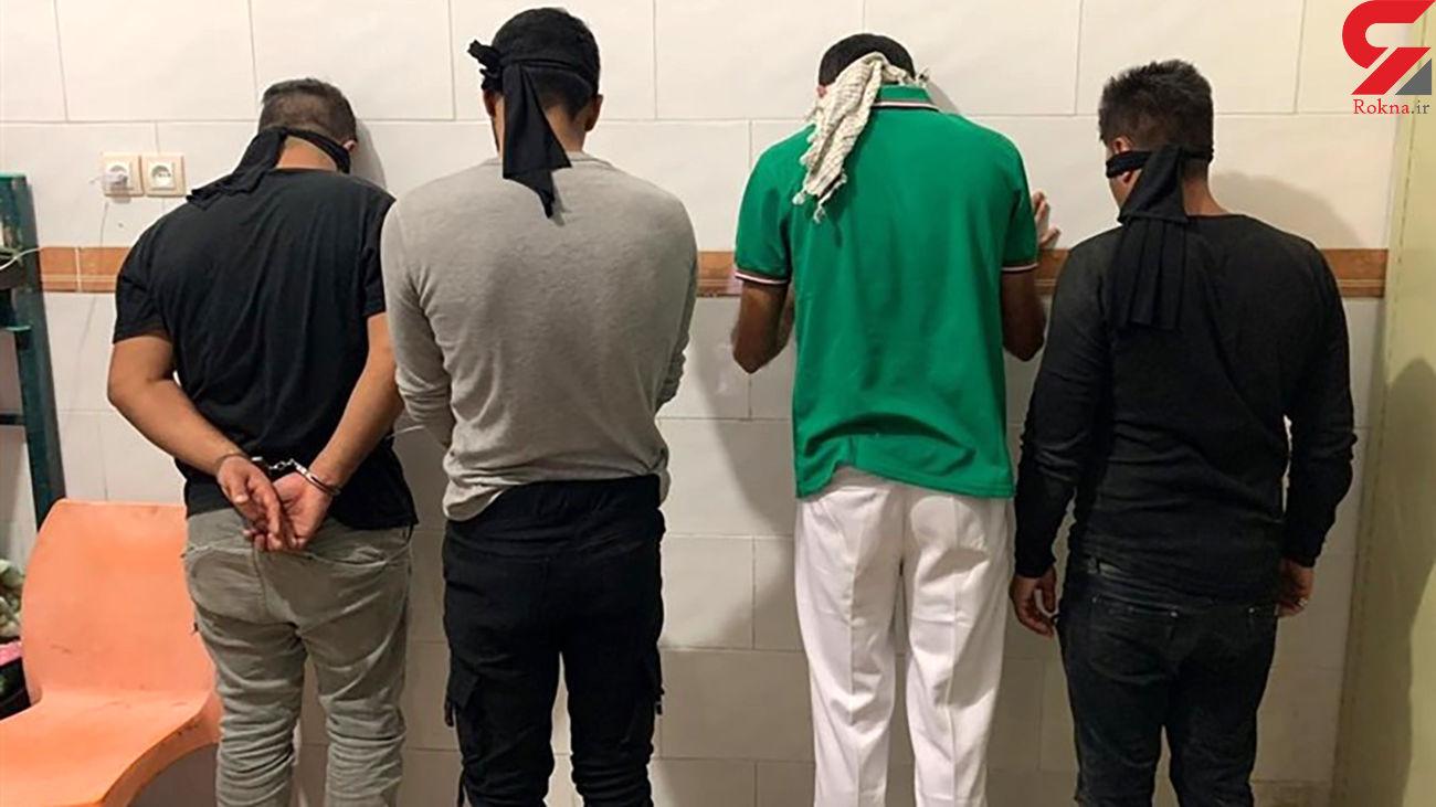 4 سارق تهرانی با پراید در حال فرار بودند که اتفاق عجیبی رخ داد