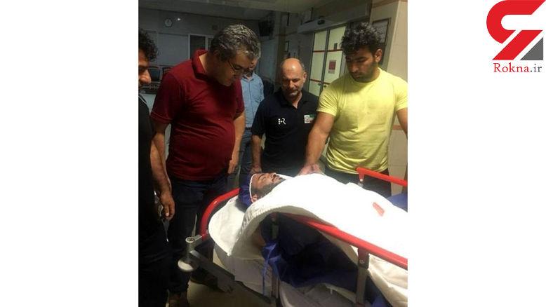 هرکول ایران در اتاق عمل / کتف قهرمان المپیک دوباره بیرون زد + عکس