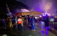 آمار جانباختگان سقوط هواپیمای مسافربری هند به 20 نفر رسید/  120 نفر مجروح + فیلم و عکس