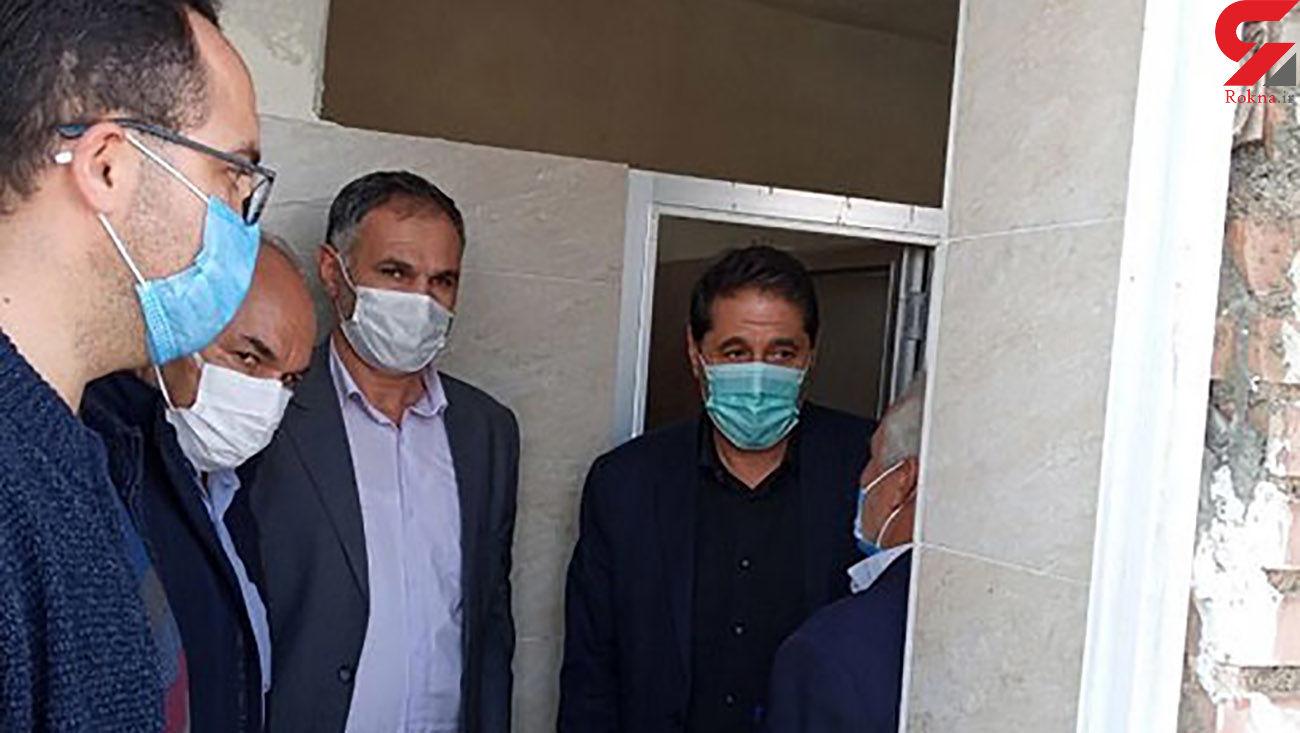 افتتاح سرویس بهداشتی توسط مسولان شهرستان + عکس