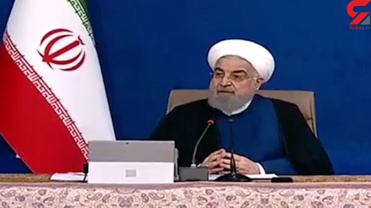 اظهار نظر روحانی درباره تحریم ایران + فیلم
