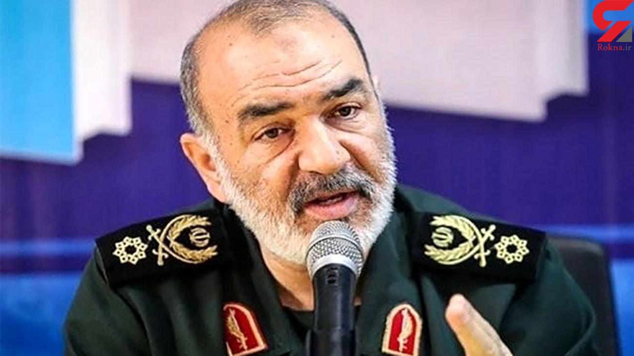 فرمانده کل سپاه: ایران به هر اقدام شرورانه صهیونیست ها واکنشی قوی تر نشان خواهد داد