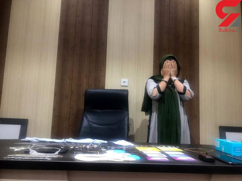 این زن تهرانی را می شناسید؟ / اقدام پلید ثریا در اتاق های خصوصی زن و شوهر ها! + عکس