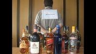 توقیف خودروی حامل مشروبات الکلی در رشت