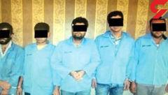 جزئیات اعدام 6 تبهکار در مشهد + عکس