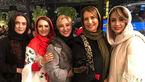 شب خاطرهانگیز فریبا کوثری با دوستان هنرمندش+عکس
