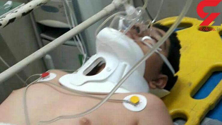 حادثه ای تلخ این نوجوان بابلی را به کما برد + عکس