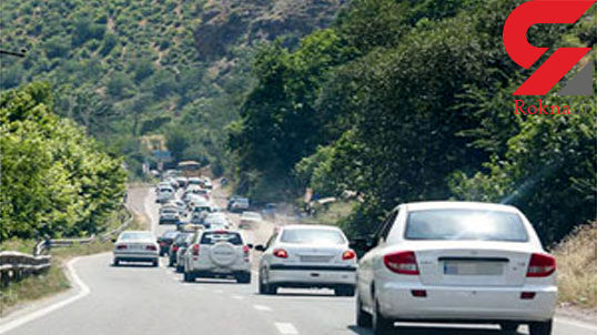 جاده کرج - چالوس یک طرفه می شود