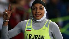 مریم طوسی در ۲۰۰ متر طلایی شد