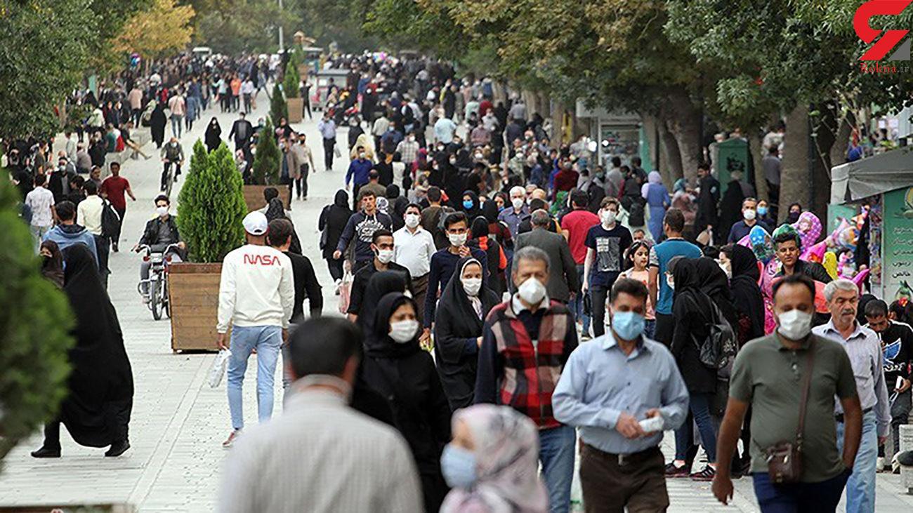 تذکر شفاهی پلیس به افراد فاقد ماسک در تهران