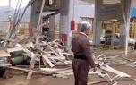 انفجار جایگاه گاز در کرمانشاه + فیلم