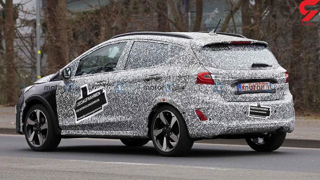 تصاویر جاسوسی از خودروی جدید شرکت فورد + عکس