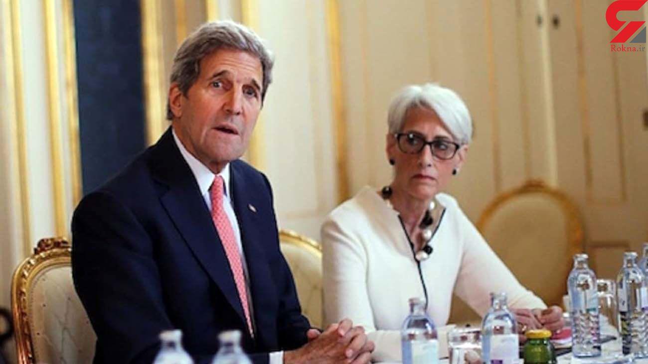 آمادگی جان کری و وندی شرمن برای تعامل با ایران
