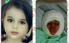 مرگ دختر زیبای ۳ساله به خاطر ایست قلبی در اهواز + عکس