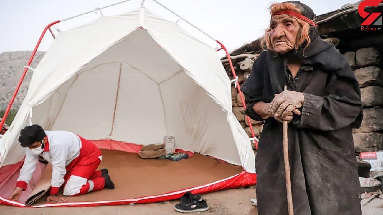 امدادرسانی هلال احمر به زلزله زدگان اندیکا + عکس