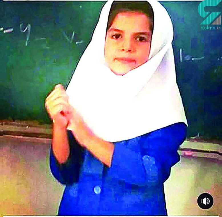 سوگل 9 ساله 5 ماه شکنجه شد! /  این دختر خوزستانی در تهران پیدا شد + عکس
