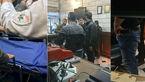 حمله 3 دزد با کلاش به صرافی در میدان فردوسی تهران +عکس و جزئیات از محل حادثه