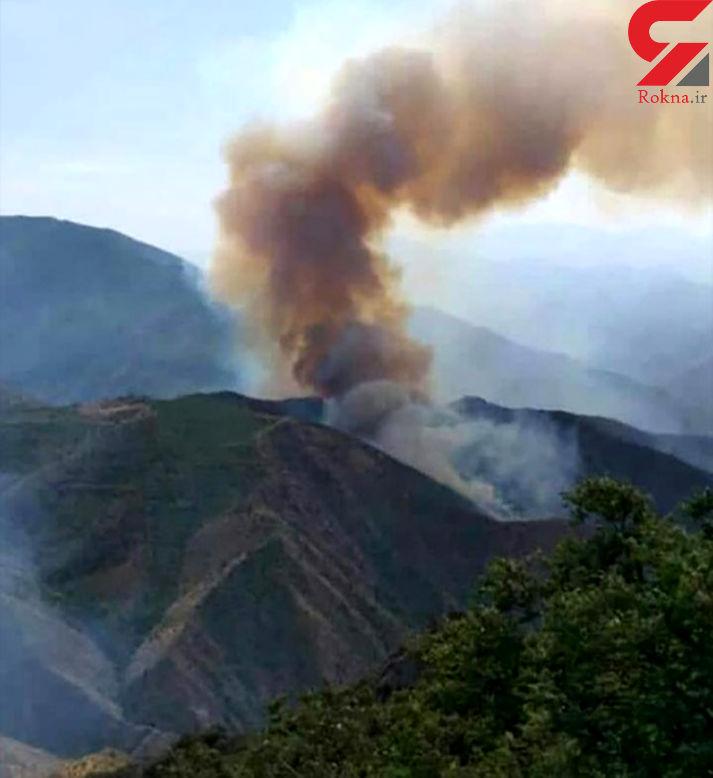 جنگل های ایران همچنان در آتش خاکستر می شوند