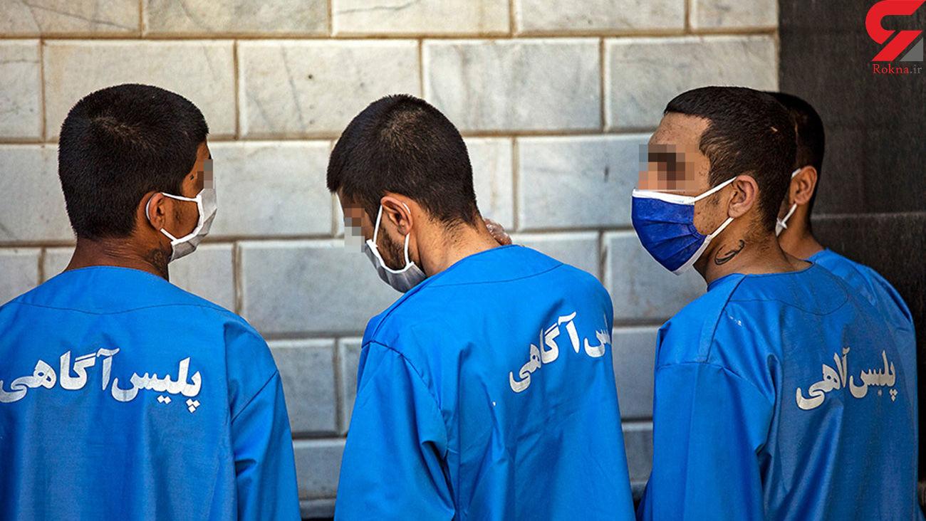 6 دزد مسلح قم در آستانه مجازات اعدام  / آنها مفسد فی الارض هستند! + جزییات